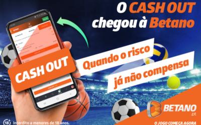 O Cash Out chegou à Betano!