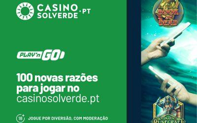 Descubra 100 Novas Razões Para Jogar no CasinoSolverde.pt